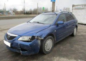 Битая Mazda 6